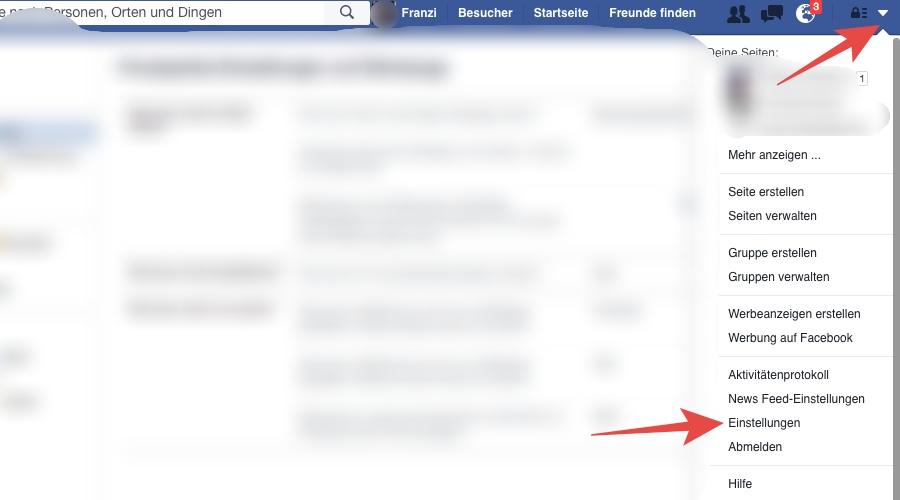 Sichtbarkeit von Facebook-Beiträgen einschränken