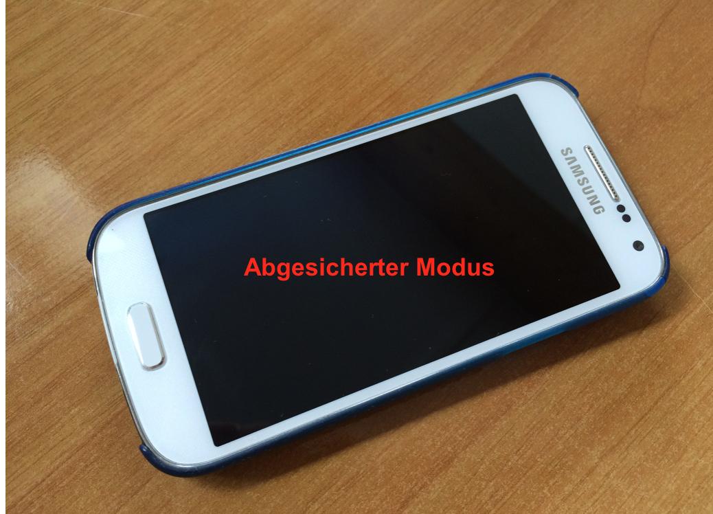 In diesem Artikel erfahren Sie, was abgesicherter Modus bei Smartphones bedeutet.