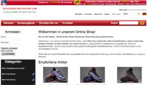 In diesem Artikel erfahren Sie, woran Sie erkennen, dass es sich bei schuhekaufen-online.com um einen Fakeshop handelt.