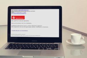 In diesem Text erfahren Sie, woran Sie die Phishing-Mails mit dem vermeintlichen Absender Sparkasse erkennen.