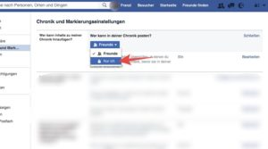 In diesem Artikel erfahren Sie, wie Sie einschränken, wer Beiträge auf Ihrer Facebook-Chronik hinzufügen darf.
