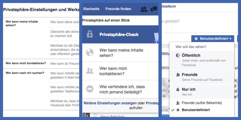 Wir zeigen Ihnen in diesem Artikel, welche Privatsphäre-Einstellungen bei Facebook möglich sind.
