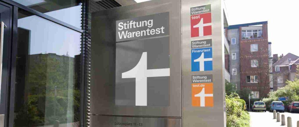 Stiftung Warentest Eingang