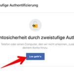FB zweistufige Authentifizierung Bild 4