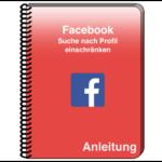 Facebook Suche einschränken