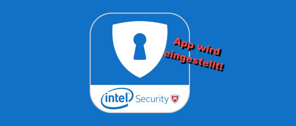Intel Security File Protect: McAfee stellt App ein