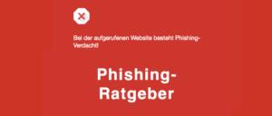 Phishing Ratgeber