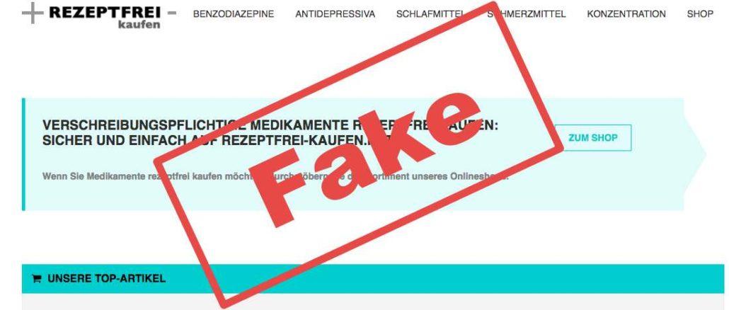 Rezeptfreikaufennet Vorsicht Fakeshop Ihre Erfahrungen