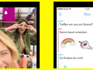 Snapchat Messenger - Cool oder out?
