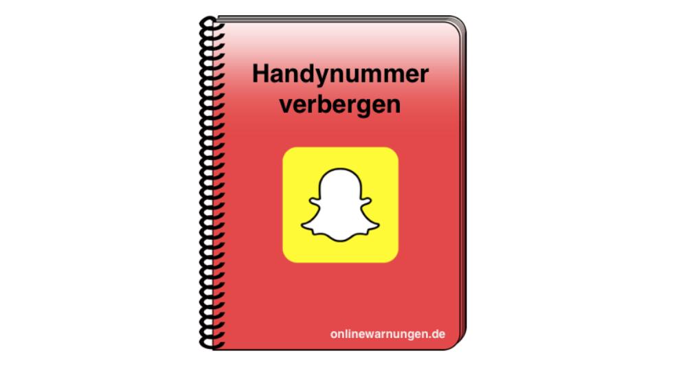 Snapchat Handynummer unterdrücken