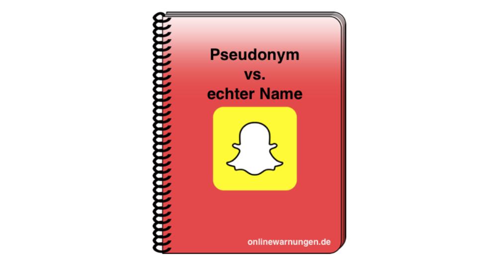 Snapchat Name ändern: Pseudonym oder echten Benutzernamen?