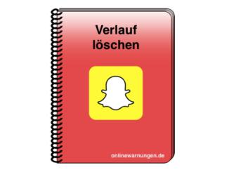 Snapchat Verlauf löschen Anleitung