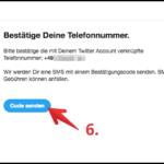 Twitter Anmeldebestätigung aktivieren