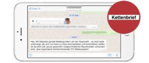 Whatsapp Rauchmelder-Kettenbrief