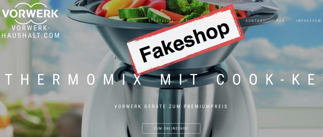 Fakeshops mit Thermomix Angeboten