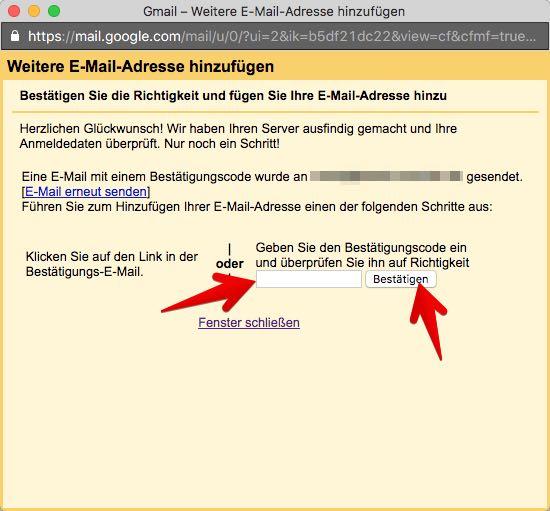 Gmail Konten verbinden 8