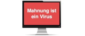 Mahnung vom Rechtsanwalt im Auftrag der Pay Online24 GmbH ist ein Virus