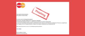 Mastercard Phishing Mail Kundensicherheit – Sicherheitsmitteilung
