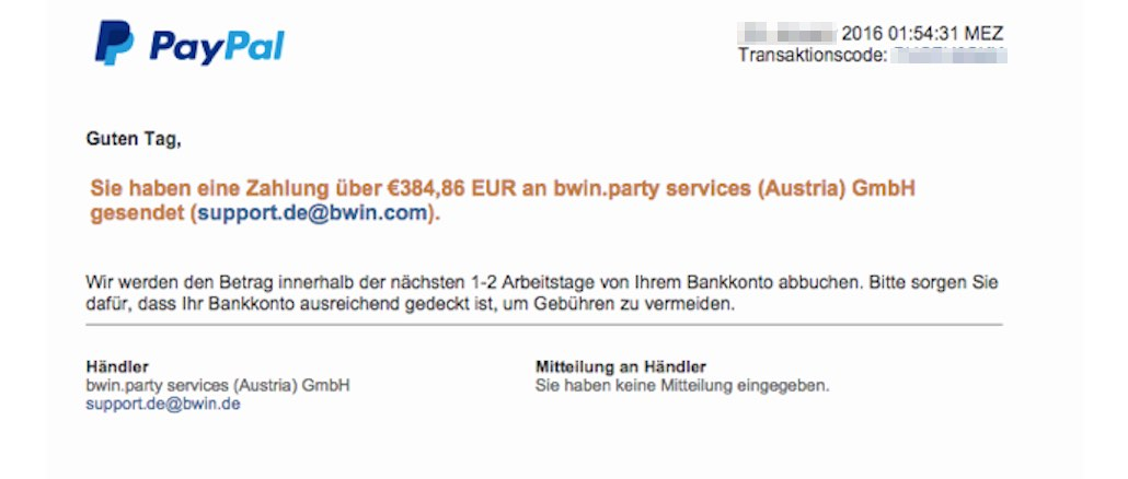 paypal phishing e mail best tigung ihrer zahlung an services ist datenklau. Black Bedroom Furniture Sets. Home Design Ideas
