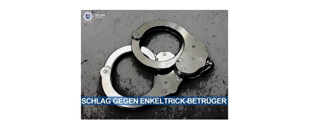 Polizei-Erfolg: 5 mutmaßliche Enkeltrickbetrüger verhaftet