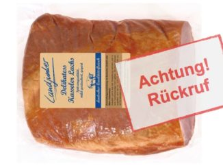 Rückruf Lidl: Landjunker Delikatess Kasseler-Lachsstück