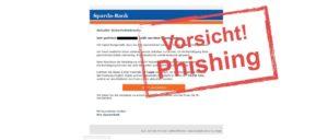 Sparda-Bank: Kunden erhalten Phishing-Mail
