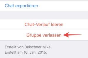 WhatsApp: Gruppe löschen - einfach erklärt