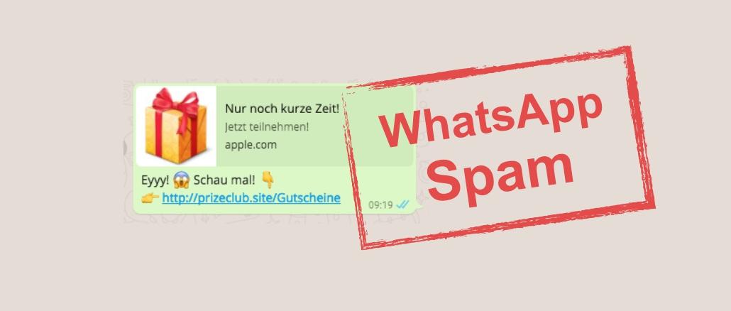 WhatsApp Spam: Eyyy! Schau mal!