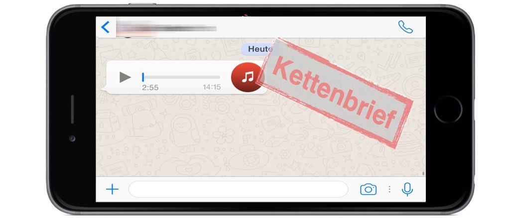 WhatsApp Sprachnachricht Morddrohung