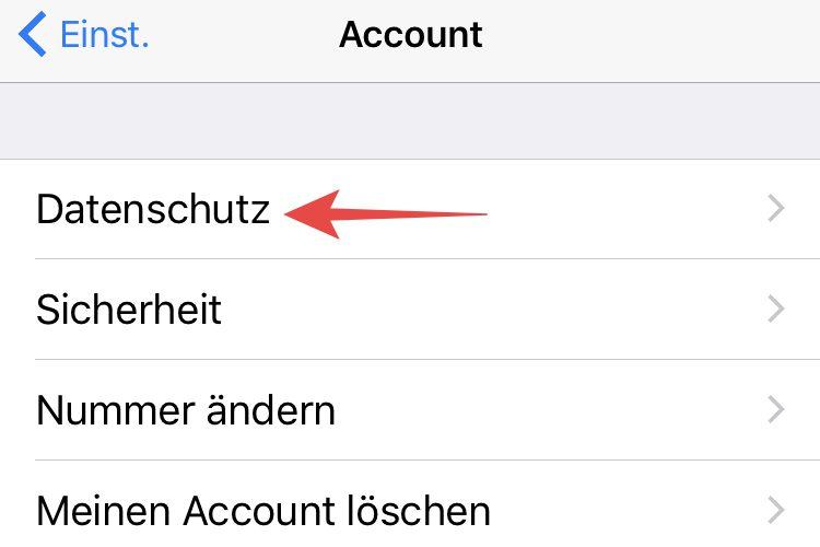 whatsapp zuletzt online deaktivieren