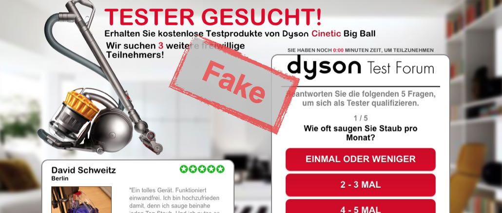 dyson Produkttester gesucht