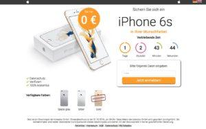 freie-auswahl-de Gewinnspiel iPhone 6S