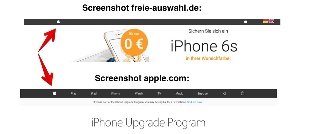 freie-auswahl-de Gewinnspiel iPhone 6S Apple Design