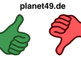 planet49 de Gewinnspiel Ihre Erfahrungen