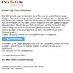 2016-12-24 ING-DiBa Phishing Wichtige Information