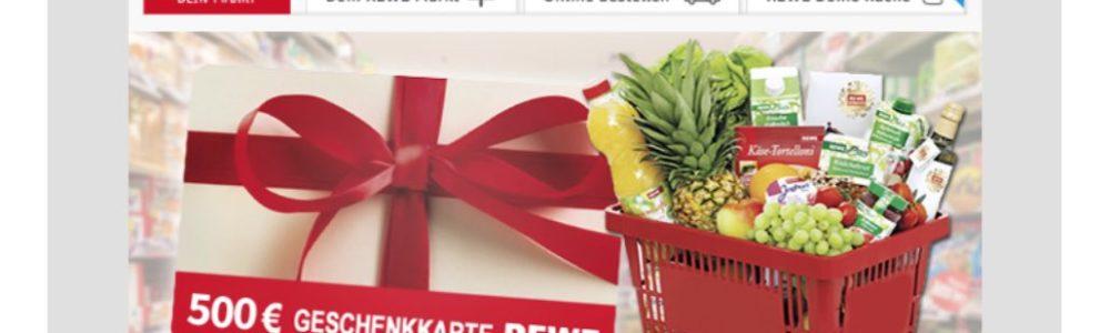 """Achtung bei der E-Mail: """"Aktiviere deine Shopping-Geschenkkarte. Hier ist wie"""""""