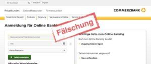 Commerzbank Phishing Betrug