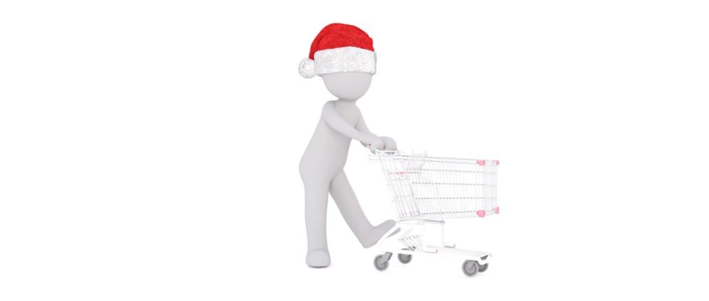 Symbolbild Weihnachtseinkauf
