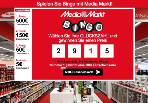 MediaMarkt Bingo