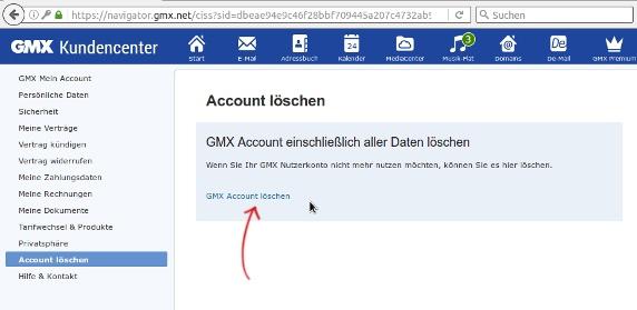 Adresse Wie Gmx Kann Email Meine Löschen Ich get intend