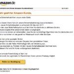 2017-01-07 Amazon Kundenaktualisierung