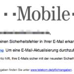 2017-01-17 Wichtig: Aktualisieren Sie Ihre E-Mail-Box Telekom Phishing