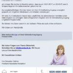 2017-01-18 Mitteilung - Anmeldeversuch Postbank Phishing