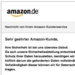 2017-01-24 Amazon Phishing E-Mail Aktualisierung