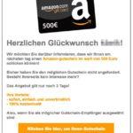 2017-01-31 Gewinnversprechen Amazon 500 Euro Gutschein