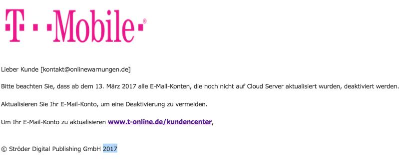 2017-03-13 E-Mail-Verifizierung Telekom T-Online Phishing