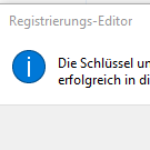 Windows-Registrierdatenbank sichern und wiederherstellen 6