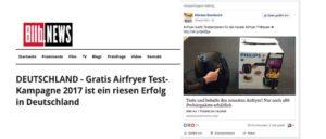 Facebook: Airfryer sucht Testpersonen für die neuste Airfryer Fritteuse ist ein Fake