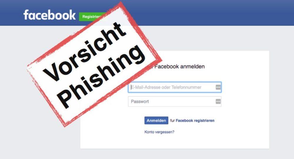 """Facebook Nachricht: """"Warnung: Ihr Konto wird deaktiviert"""" ist ein Phishing-Message"""