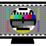 Fernseher Testbild TV